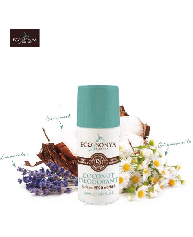 Coconut Deodorant - Eco Tan