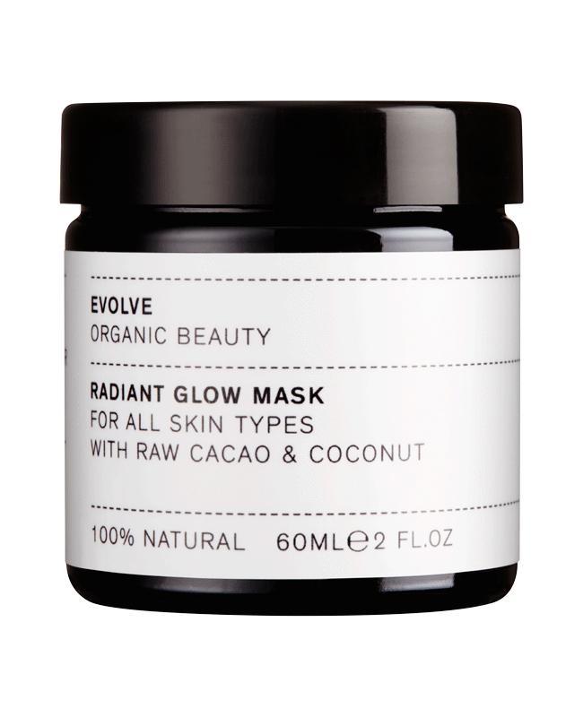 Radiant Glow Organic Face Mask