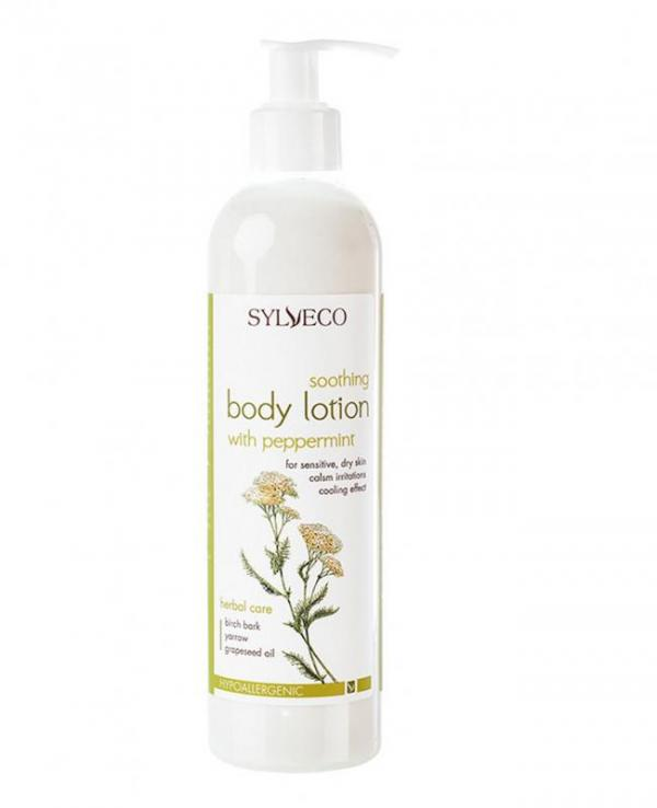 BODY LOTION SOOTHING WITH PEPPERMINT