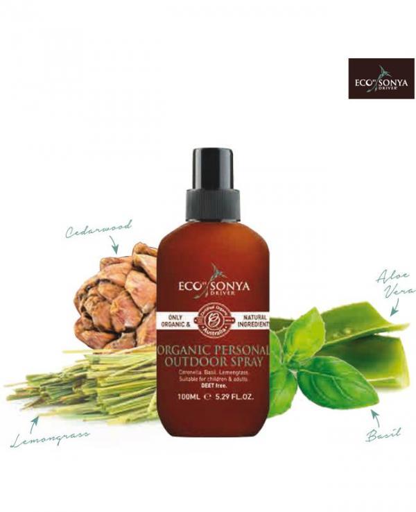 Organic Personal Outdoor Spray - Eco Tan
